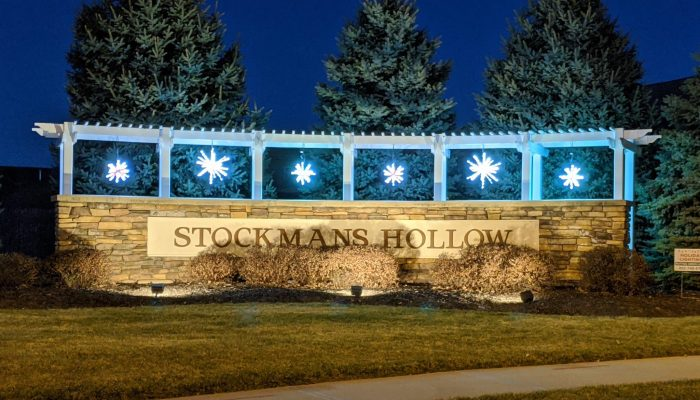 Happy Holidays from Stockmans Hollow HOA!